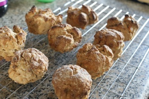 Ginger and treacle scones