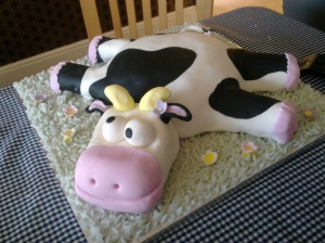 Cow cake!