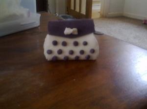 Handbag cake topper