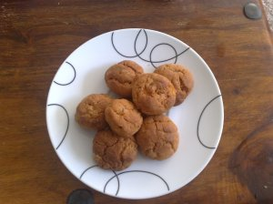 Ginger and chilli biscuits