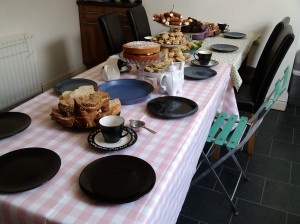 Housewarming afternoon tea