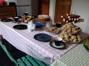 Housewarming afternoon tea