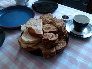 Housewarming afternoon tea sandwiches