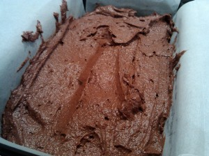 Double chocolate loaf cake mix