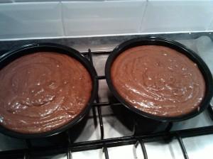 Chocolate orange cake mix
