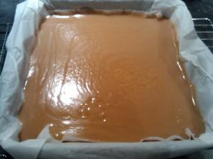 Millionaire's shortbread - caramel