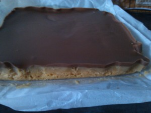 Millionaire's shortbread - chocolate